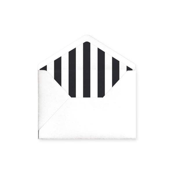 Bold Striped Envelope Liner