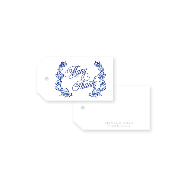 Laurel 7 Watercolor Gift Tag