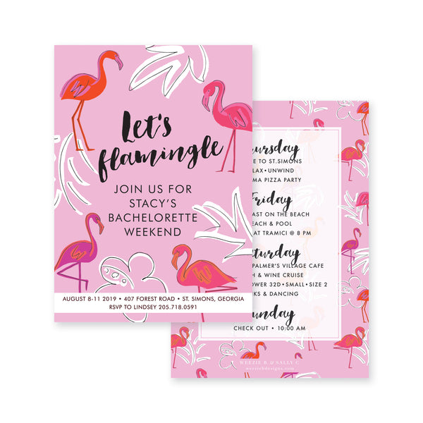 Let's Flamingle Bachelorette