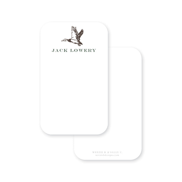 Flying Mallard Pocket Note
