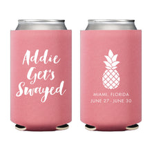 Load image into Gallery viewer, Weezie B. Designs | Palm Bachelorette Koozie
