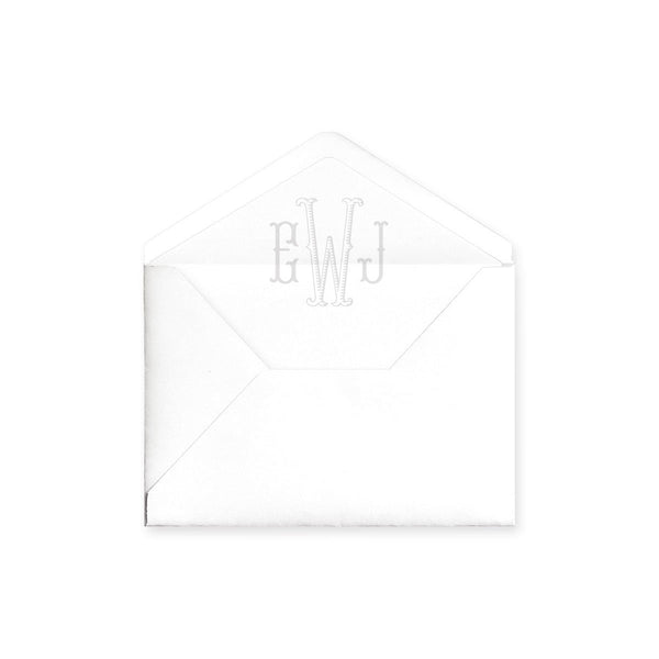 Monogram Envelope Liner