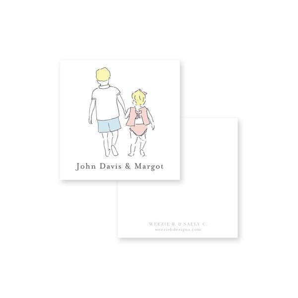 Sweet Siblings Calling Card