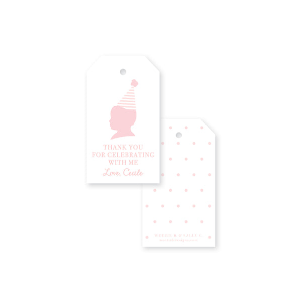 Sweet Silhouette Gift Tag