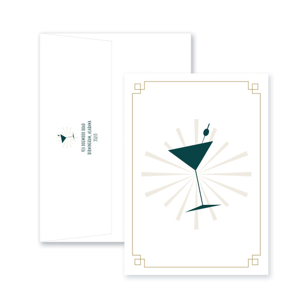 Weezie B. Designs | Toast to the Graduate Party Invitation