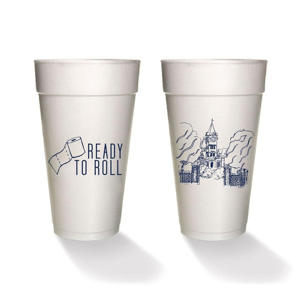 Ready to Roll Styrofoam Cups (set of 4 or 8)