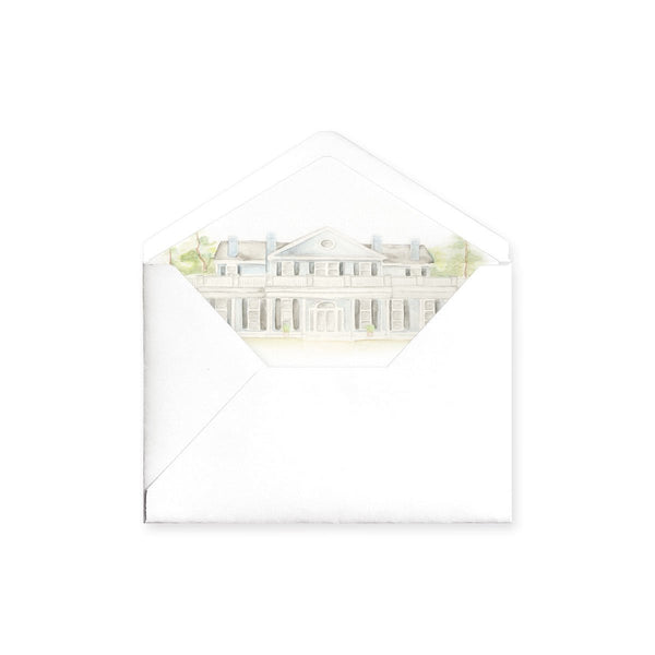 Venue Watercolor Envelope Liner
