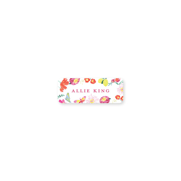 Butterly Garden Permanent Stickers