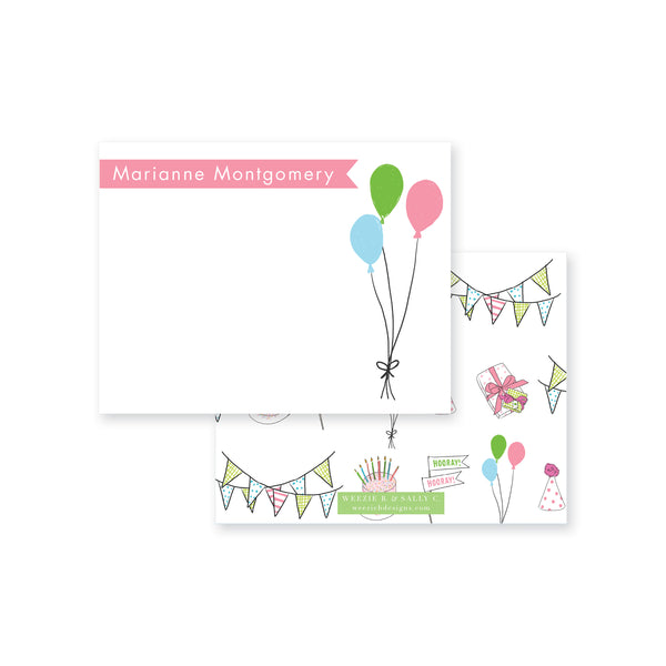 Celebrate Goods Times Flat Note Card