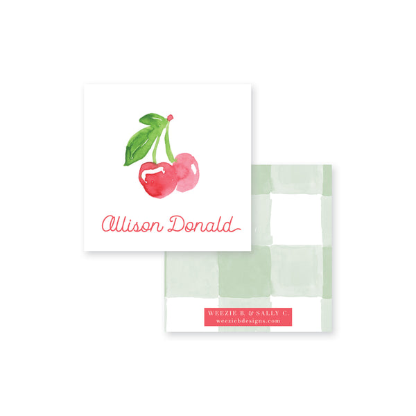 Cherry Sweet Calling Card