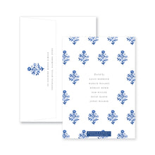 Load image into Gallery viewer, Delft Flowers Bridal Invitation