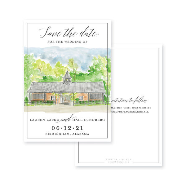 Farm Modern Save-the-Date