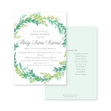 Load image into Gallery viewer, Floral Wreath Bridal Shower