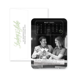 Weezie B. Designs | Elegant Full Photo with Calendar