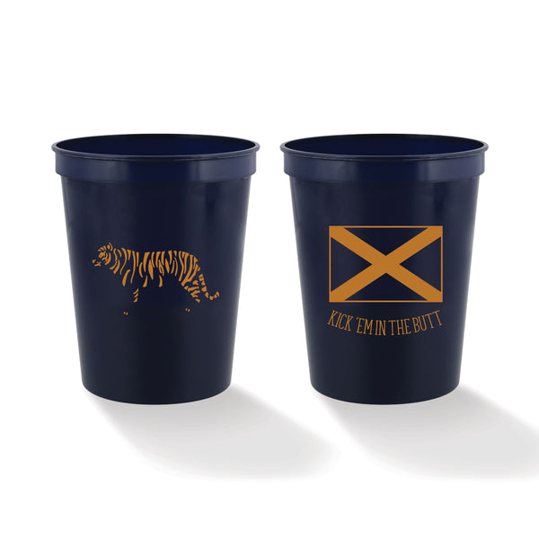 Kick 'Em in the Butt Stadium Cups (set of 4)
