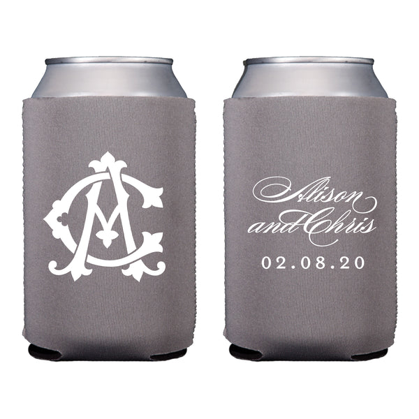 Two-Letter Intertwine Koozie