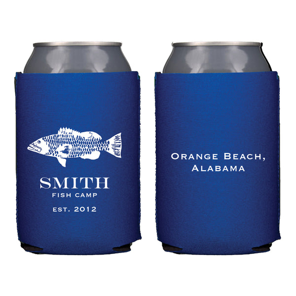 Fishing Camp Koozie