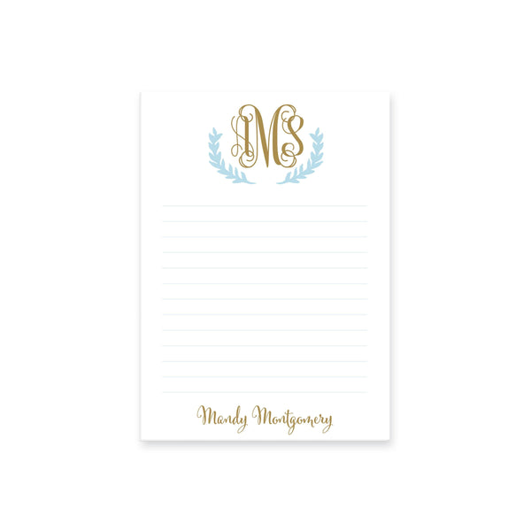 Vine Laurel Notepad
