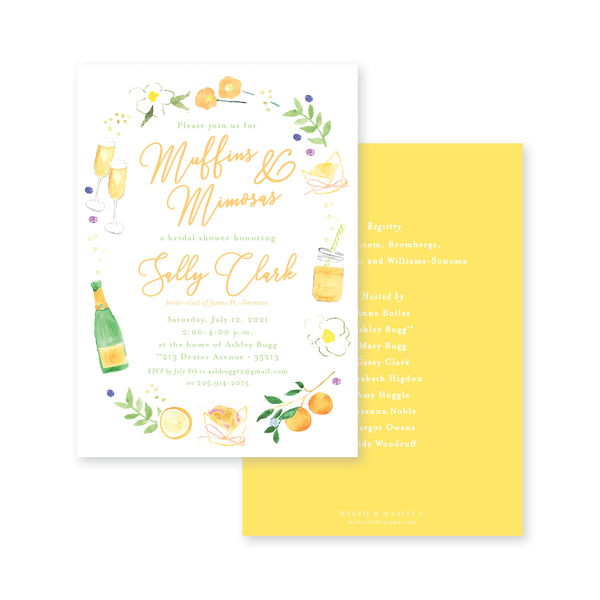 Muffins & Mimosas Bridal Shower