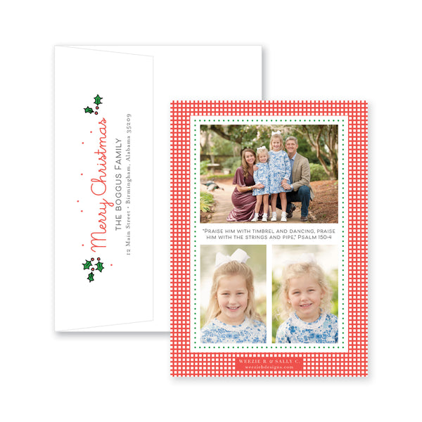 Playful Nutcracker Story Christmas Card