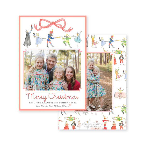 Nutcracker Story Christmas Card