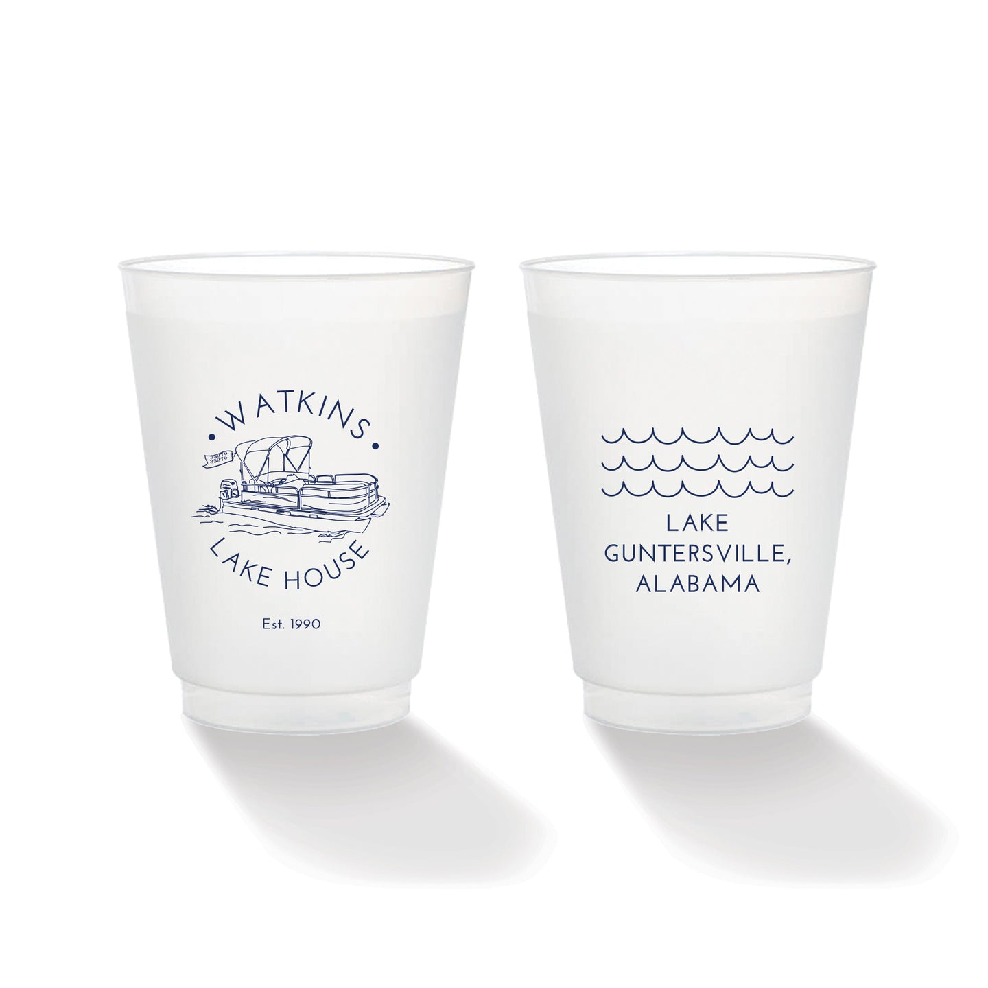Pontoon Frosted Cup