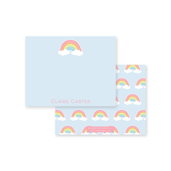 Rainbow Flat Note Card