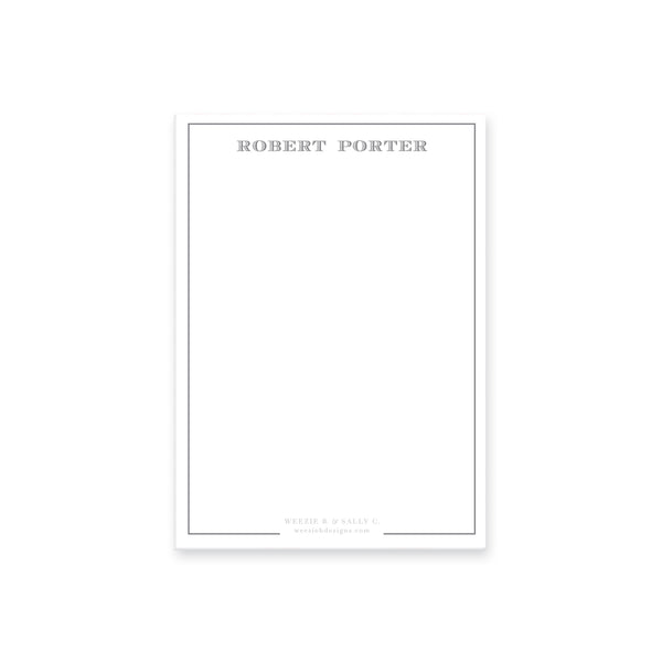 Simple Border Notepad
