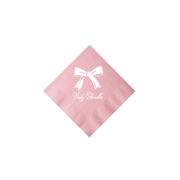 Sweet Bow Napkins