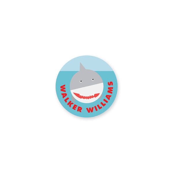 Watch Out For Sharks II Vinyl Sticker