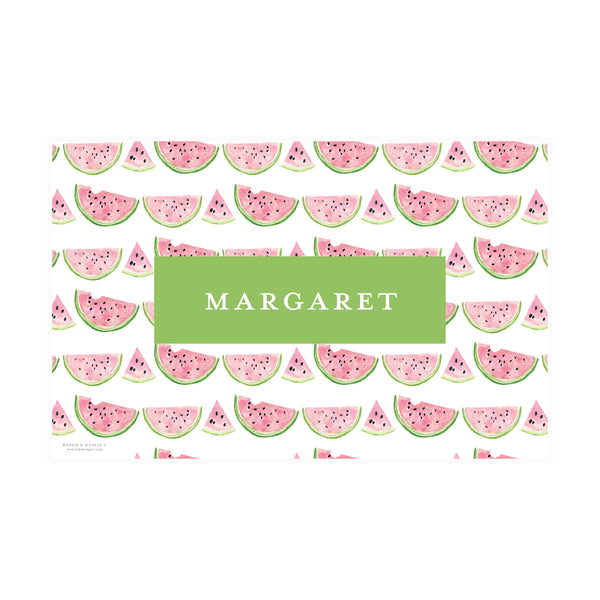 Sweet Watermelon Placemat