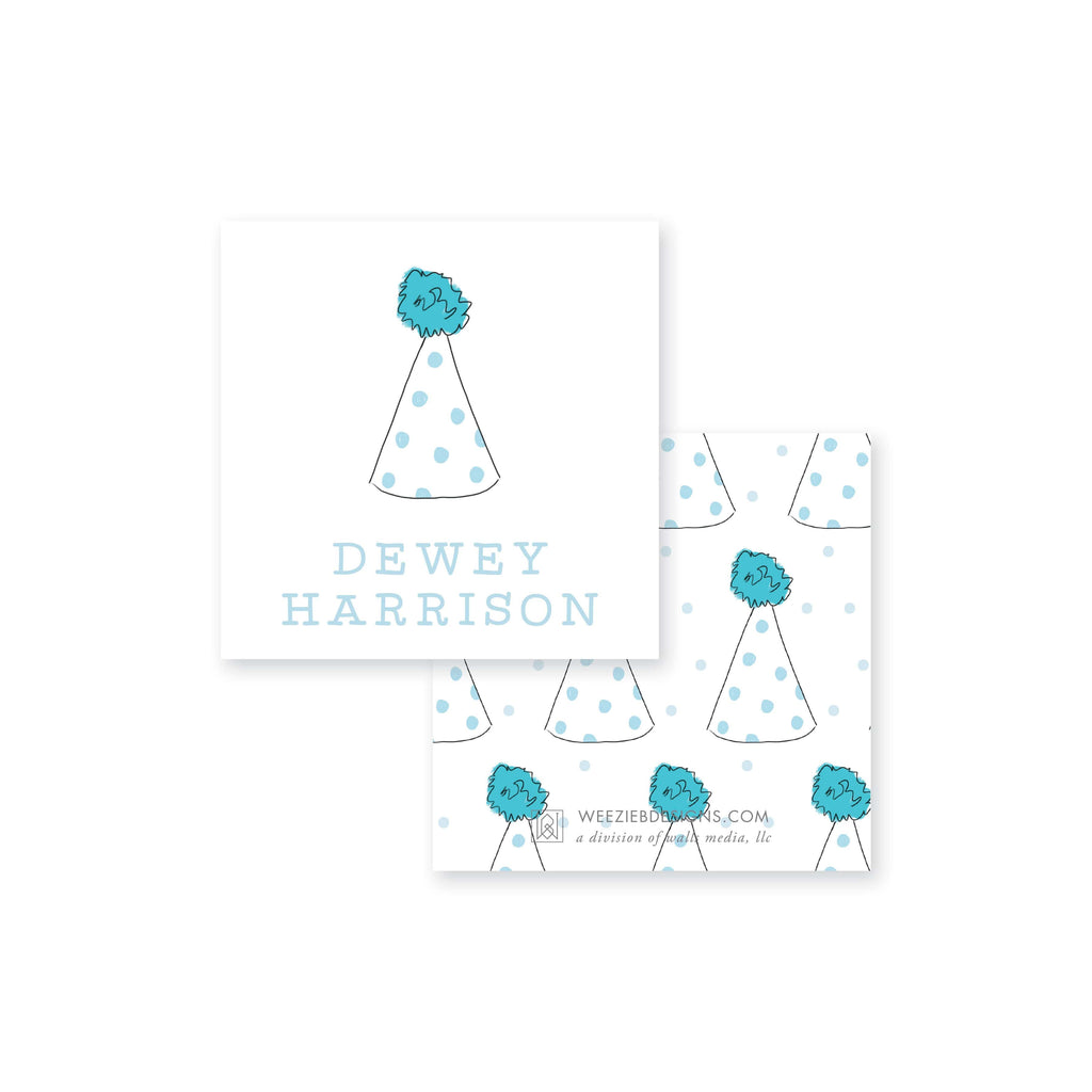 Weezie B. Designs | Party Hats Calling Card