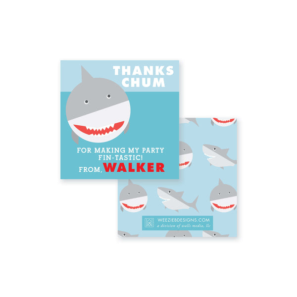 Watch Out For Sharks Gift Card