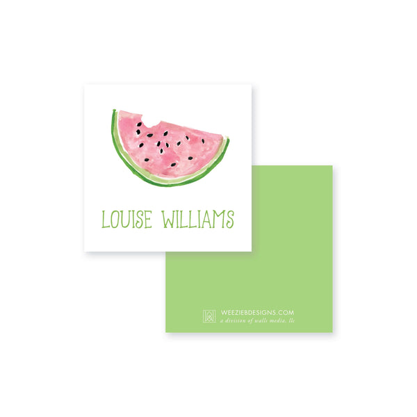 Sweet Watermelon Calling Card