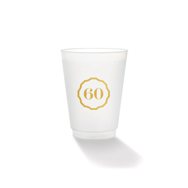 Weezie B. Designs | Gatsby 60 Frosted Cup