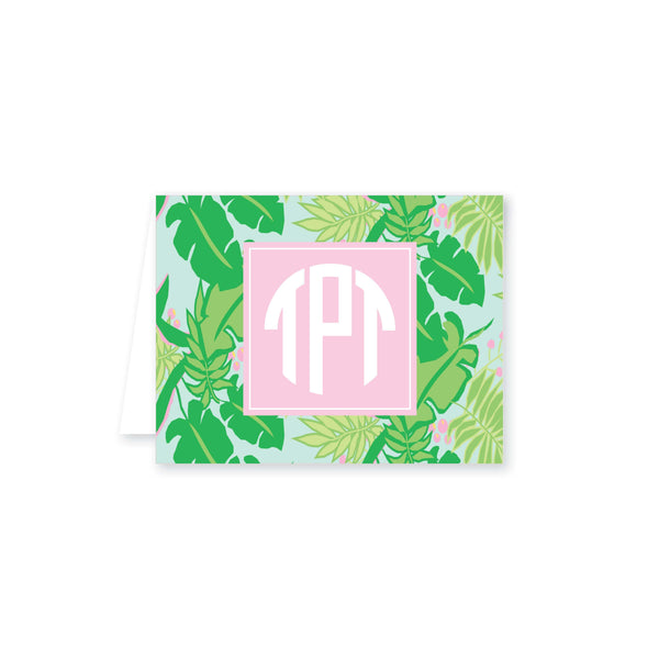 Weezie B. Designs | Bright & Tropical Folded Note Card