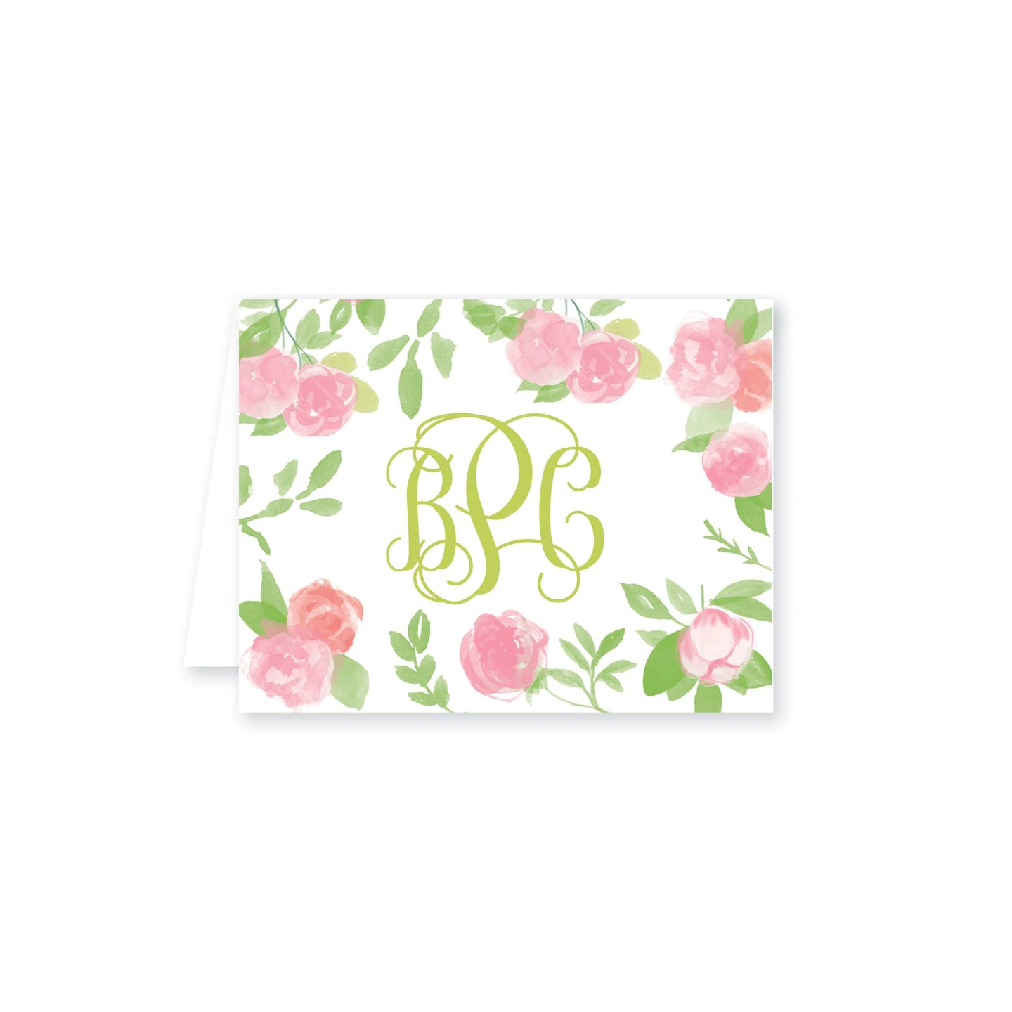 Weezie B. Designs | Garden of Peonies Folded Note Cards