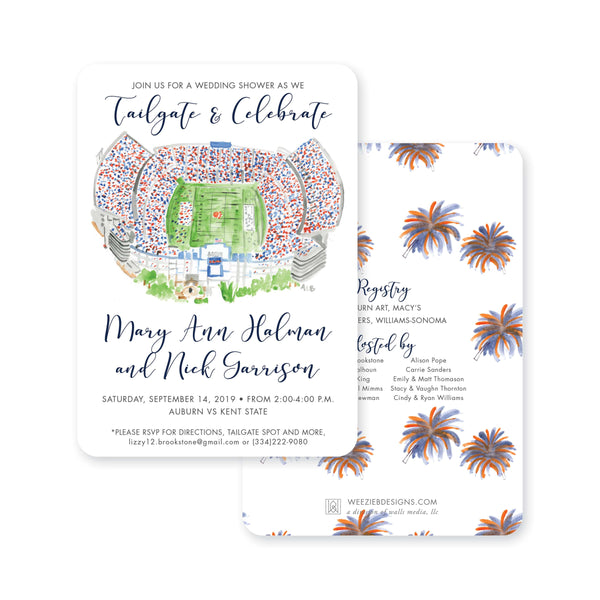 Tailgate & Celebrate Engagement