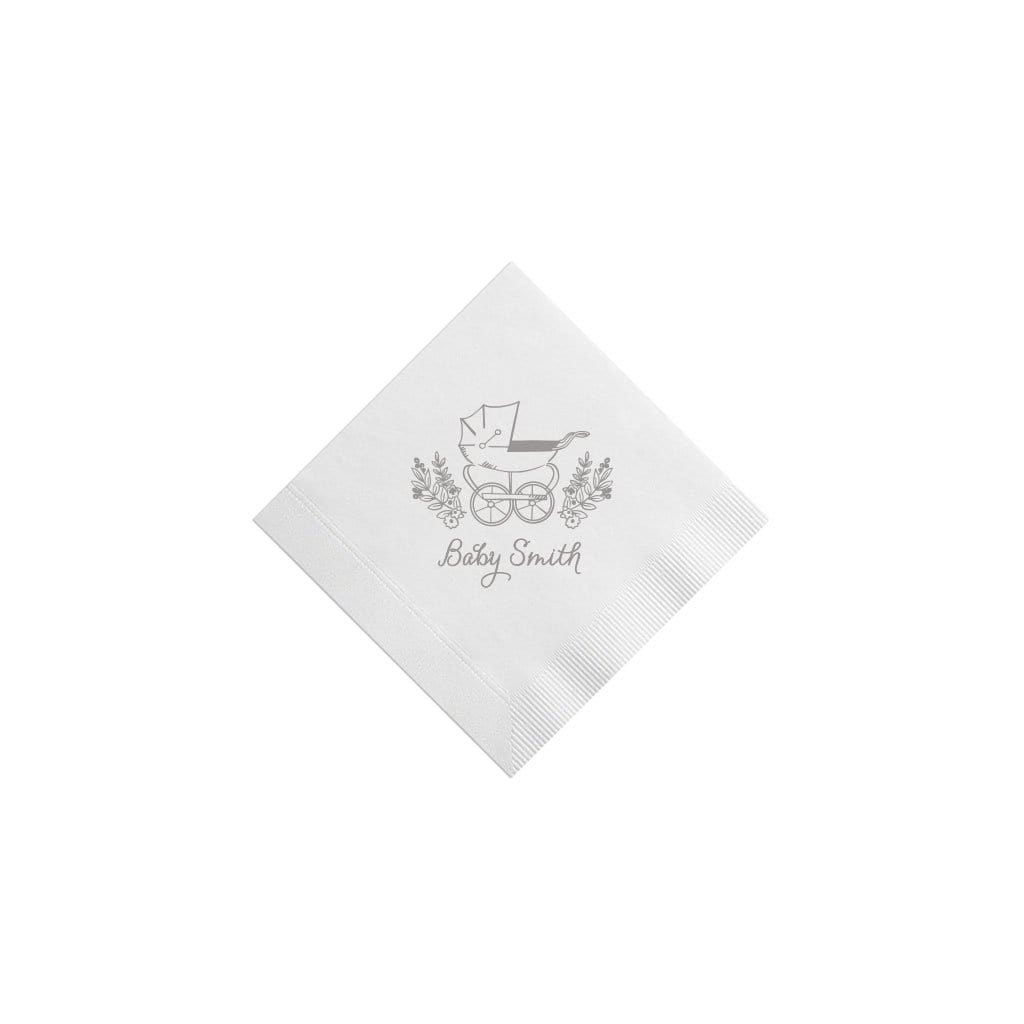Weezie B. Designs | Pram Cocktail Napkins