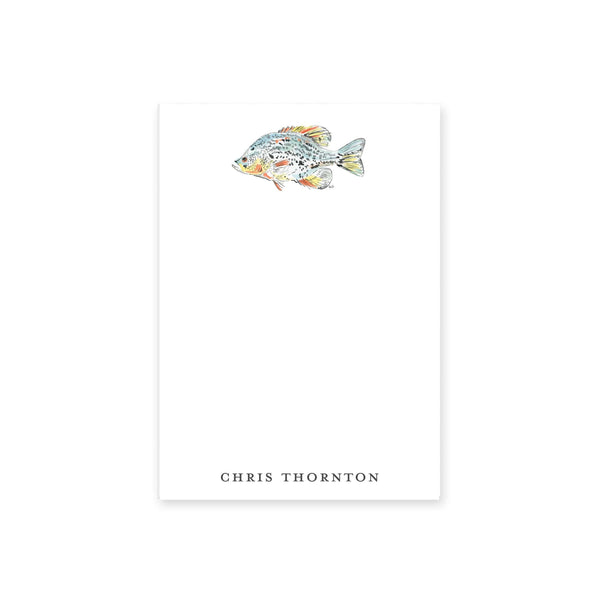 Watercolor Fish Notepad