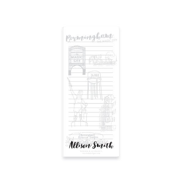 Weezie B. Designs | Magic City Sketch Notepad