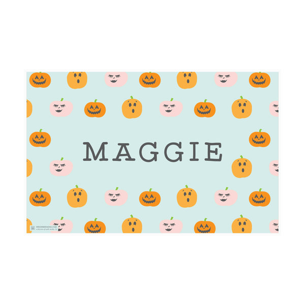 Weezie B. Designs | Cutesy Halloween Placemat