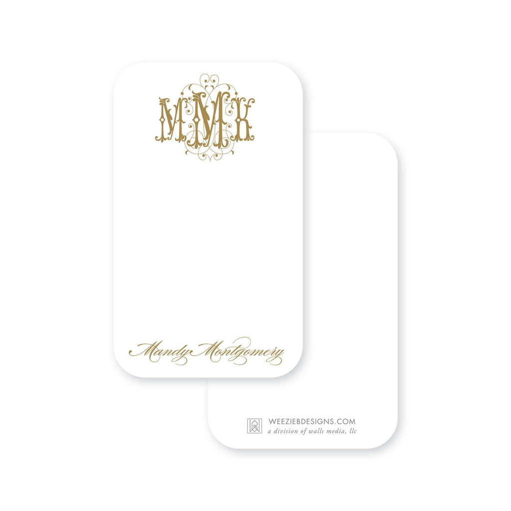 Weezie B. Designs | Fanciful Pocket Note
