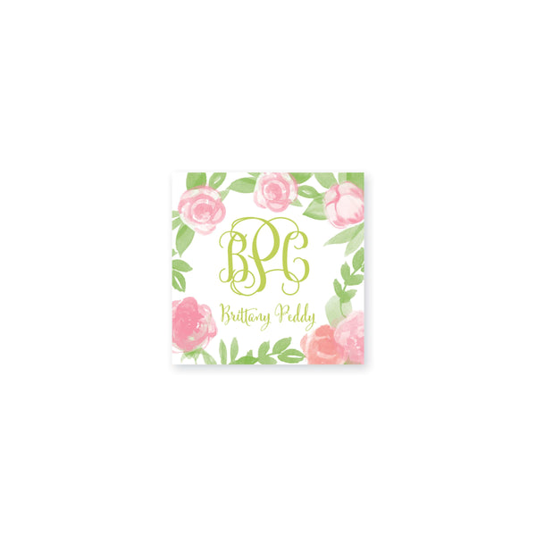 Weezie B. Designs | Garden of Peonies Vinyl Stickers