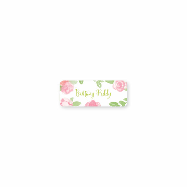 Garden of Peonies Permanent Stickers