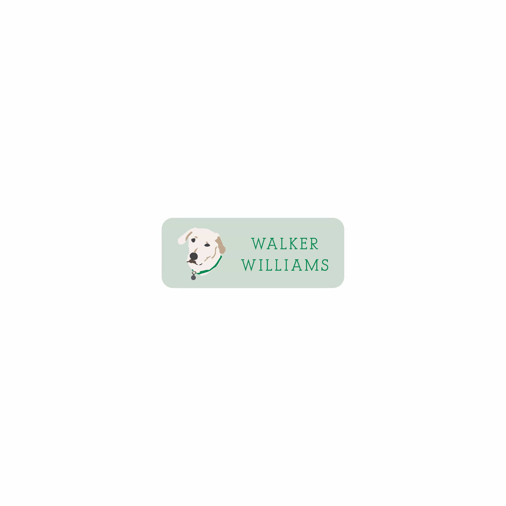 Weezie B. Designs | White Lab Permanent Sticker