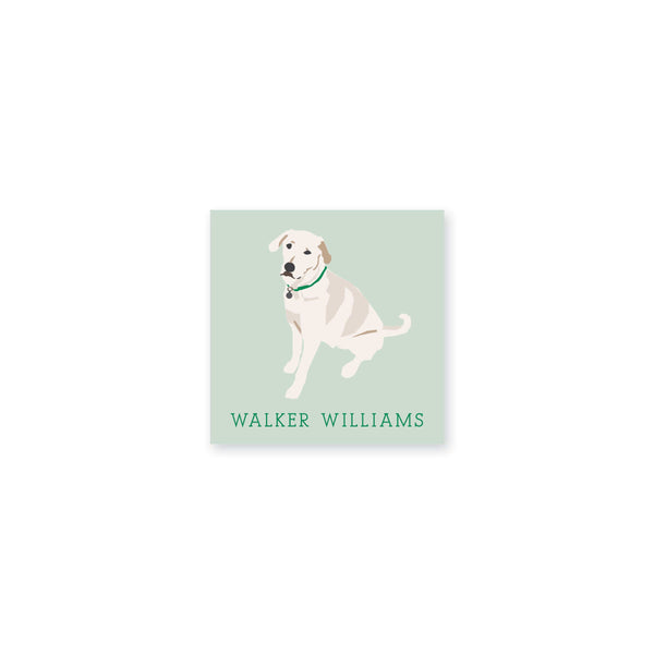 Weezie B. Designs | White Lab Vinyl Stickers