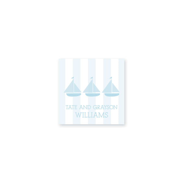 Weezie B. Designs | Trio of Sailboats Stickers