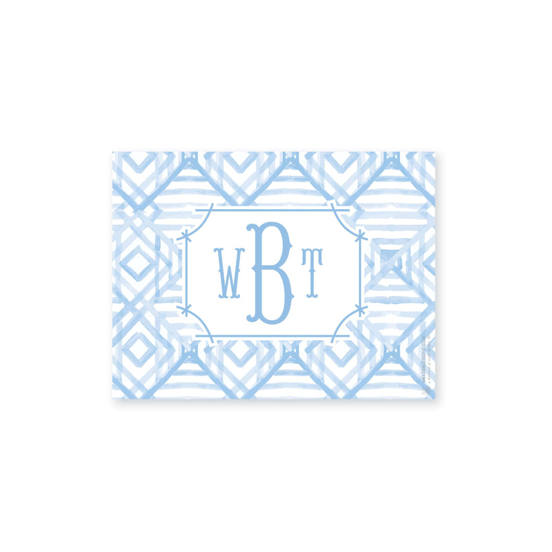 Weezie B. Designs | Watercolor Bamboo Medium Acrylic Tray Insert