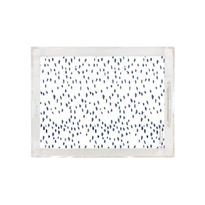 Super Spotty Navy Tray